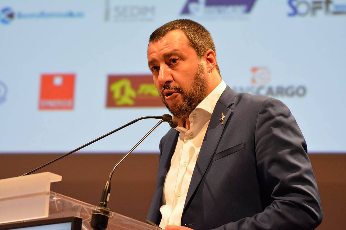 Matteo Salvini all'Assemblea ALIS