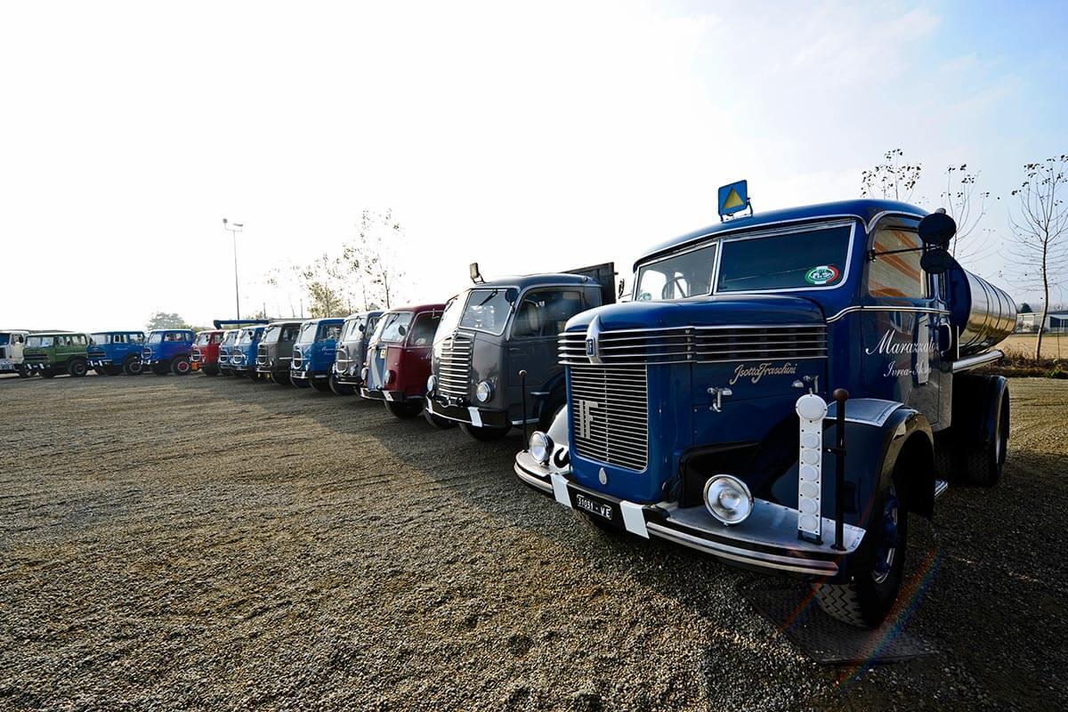 camion storici dopoguerra