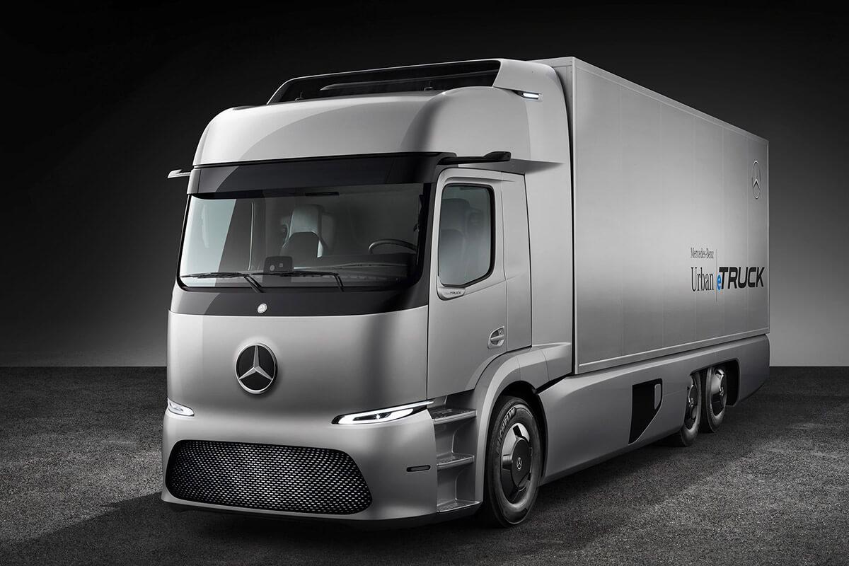 camion elettrico Mercedes