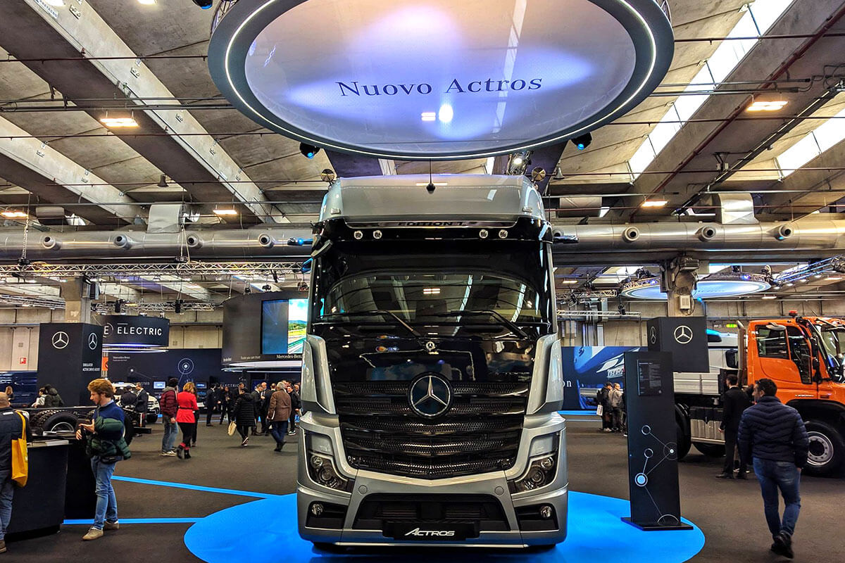 Mercedes Nuovo Actros