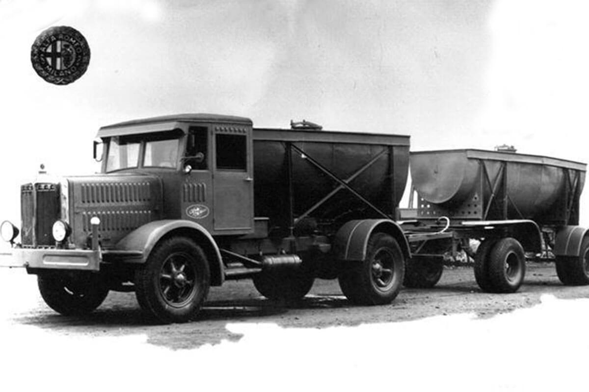 camion alfa romeo 50