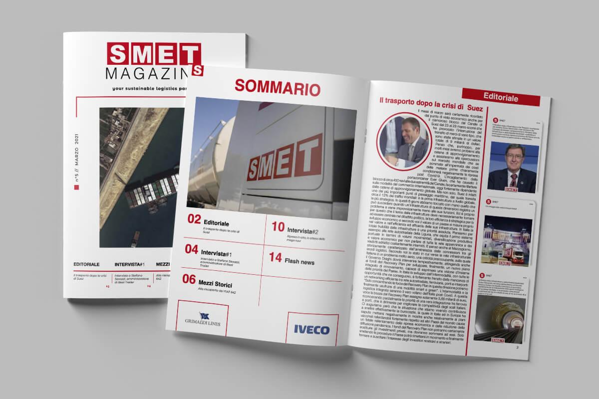 SMET Magazine – n. 5 // marzo